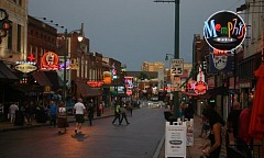 Beale Street Memphis Tennessee
