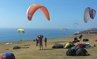 Torrey Pines Glider Port is a great place to go if you are looking for adrenaline adventure.