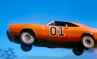 General Lee from Dukes of Hazzard Season 7 is a cool movie car I dream of driving