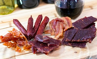 A guide to pairing wine and jerky